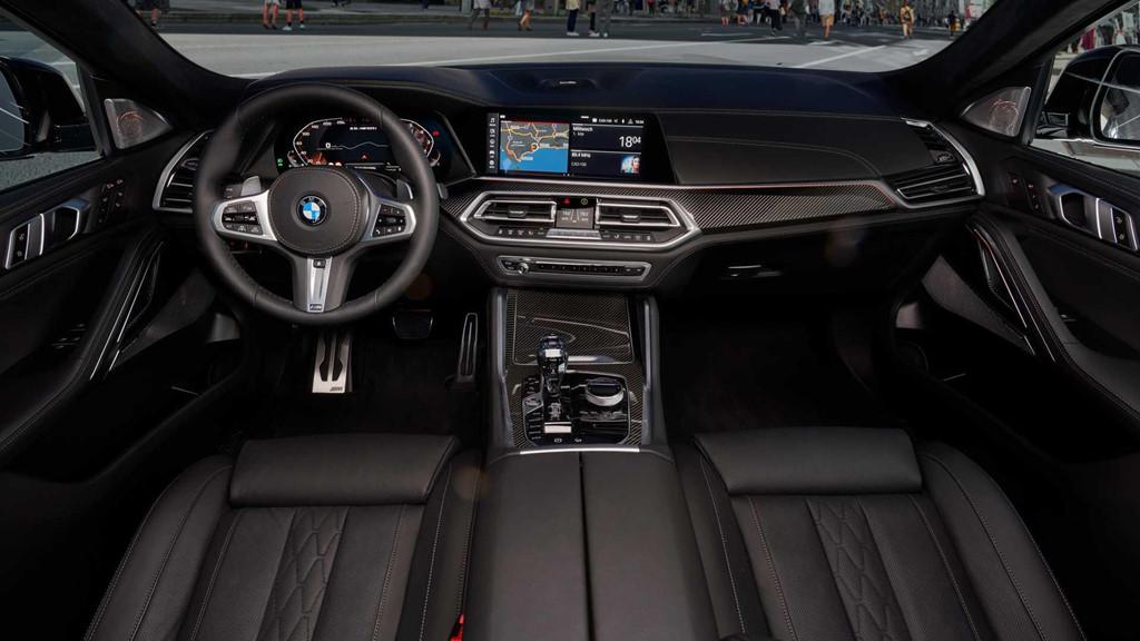 Nội thất BMW X6 mới